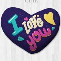 Bantal hati / kado valentine - Love Cute Large
