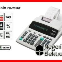 CASIO FR-2650T-WE - Kalkulator Printing Diskon