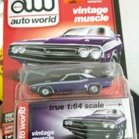 Auto World Vintage Muscle Dodge Challenger RT