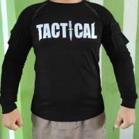 Baju kaos tactical tektical taktikal BDU COMBAT lengan panjang sablo