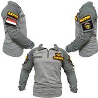 combat shirt abu taruna akpol  -  baju kaos tactical ak