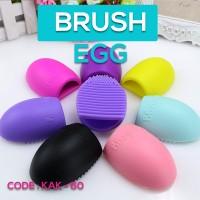 EGG Brush - alat pencuci kuas make up brush (BRUSH EGG)
