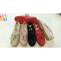 Jelly Shoes Kets Jaring - Sepatu Wanita Kets