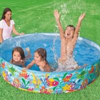 Promo Kolam Anak / Kolam Renang Intex Tanpa Pompa 183 Cm Snapset Pool