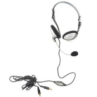 SONICGEAR BS200 - PC Stereo Mutimedia Backphone Heatset  Microphone