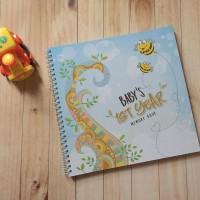 Baby Jurnal / Jurnal Bayi / Baby Diary / Baby Memory Book / Buku Bayi