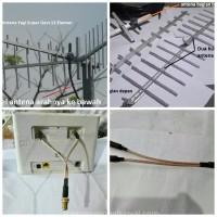 Antena Penguat Sinyal Yagi 12 EL Huawei Bolt XL Home B310S B310 B315 H