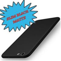 slim case black matte oppo F5 / silikon blackmatte