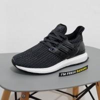 Sepatu Adidas Ultra Boost Ultraboost Primeknit Flyknit 2.0 Black Core