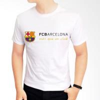 Kaos Baju Tshirt Barca FC Barcelona
