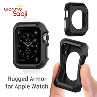 Rugged Armor - Silicone Rubber Case Apple Watch 38 42 mm Series 1 2 3