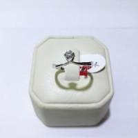 Cincin emas putih kadar 750 berat 2 gram size 14 dan 15 Limited