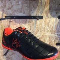 Sepatu futsal kelme original Star 9 black orange new 2017