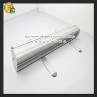 IMPORT!!! Tiang Gulung Roll Up Banner Stand Poster Ukuran 80x200cm