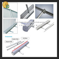 IMPORT!!! Stand Banner Poster Tiang Gulung Roll Up Ukuran 85x200cm