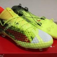 Sepatu Bola Soccer Puma Future 18 1 Netfit Fizzy Yellow FG