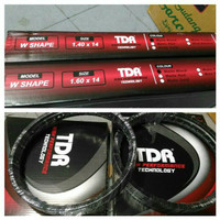 velg TDR ring 14 w shape ukuran 140x 14 dan 160x14 sepasang