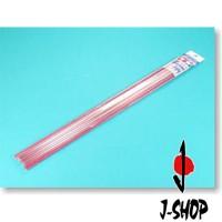 Tamiya Clear 8 mm Pipe Plastic Beams (3pcs) TA 70137