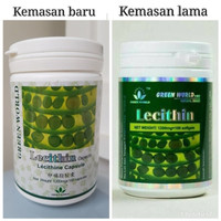 Lecithin Sofgel Green World/ Obat Kolestrol/ Kram/ Kesemutan