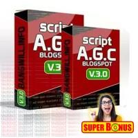 AGC Blogspot 3.0 Original Auto Artikel Blog Link Building Adsense Aman