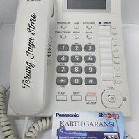 Telepon Kabel Panasonic KX-TS885ND (Putih) Pesawat Telepon Rumah TS885