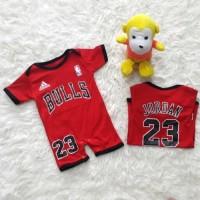 Baju Bayi Romper Jumper Basket NBA Bulls Jordan 23