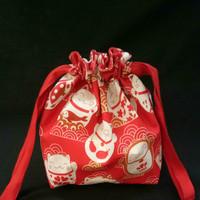 tas serut mini edisi chinese new year/tas angpao anak/souvenir