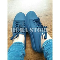 Sepatu wanita jelly shoes import sneakers cewe keds kets