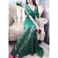 Long dress 9251   dress pesta  dress sexy  baju pesta  baju nyanyi