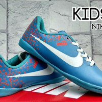 Sepatu Futsal Nike Elastico Superfly Orange Grade Ori (Futsal-Soccer)