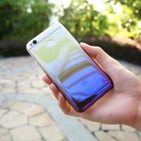 Gradient Case Xiaomi Redmi 4A 4X Blue Ray Aurora Hardcase Cover Slim