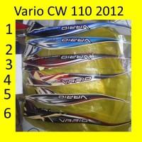 Motor Honda Vario 2012 CW 110 Stiker / Lis / Striping / Stripping