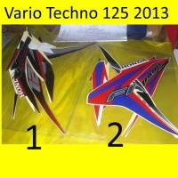 Motor Honda Vario 2013 125 Tech FI Stiker / Lis / Striping / Stripping