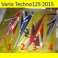 Motor Honda Vario 2015 Techno 125 Stiker / Lis / Striping / Stripping