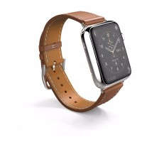 Strap Apple Watch iWatch Band Hermes Single Tour 38mm & 42mm Leather