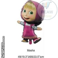 Balon Foil Masha / Marsha And The Bear