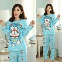 Baju Tidur/ Piyama/ Pajamas Wanita Remaja/ Dewasa 20 Doraemon