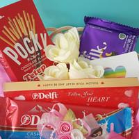 Kado/Hadiah/Hampers/Coklat Valentine - Paket Coklat Valentine 3