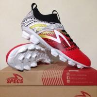 Best Sepatu Bola Specs Heritage FG Emperor Red 100796 Original BNIB K