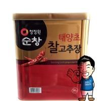 Chung Jung One Gochujang- Saus Sambal Korea- Red Pepper Paste 14 kg
