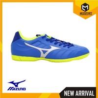 Sepatu Futsal Mizuno Original Rebula V3 IN Strong Blue P1GF188509