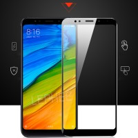 Xiaomi Redmi 5 Plus Tempered Glass Colour Warna Full 3D Anti Gores