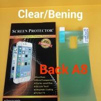 Anti Gores Back Clear Bening Samsung Galaxy A8 2018 Belakang