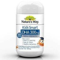 Natures Way Kids Smart Omega 3 Fish Oil DHA 300mg triple strength