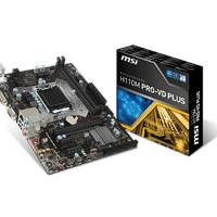 Motherboard Gaming MSI H110M Pro VD Plus DISKON TERMURAH