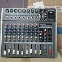 pawer mixer audio tum ms812d new usb mp3
