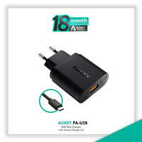 Power Adapter Wall Charger Aukey PA-U28 Qualcomm Quick Charge Original