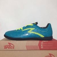 Premium Sepatu Futsal Specs Quark IN Tosca Solar Slime 400758 Origina