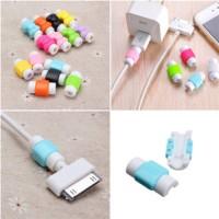 PENGAMAN UJUNG KABEL DATA USB HP Pelindung Cable Cover Edge Pengikat