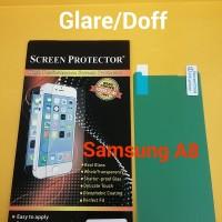 Anti Gores Screen Protector Glare Doff Samsung Galaxy A8 2018 Depan